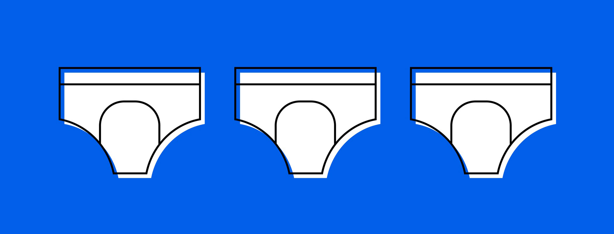 three adult diapers