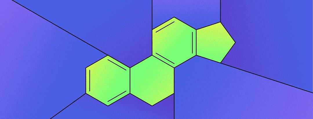 An abstract interpretation of testosterone hormone