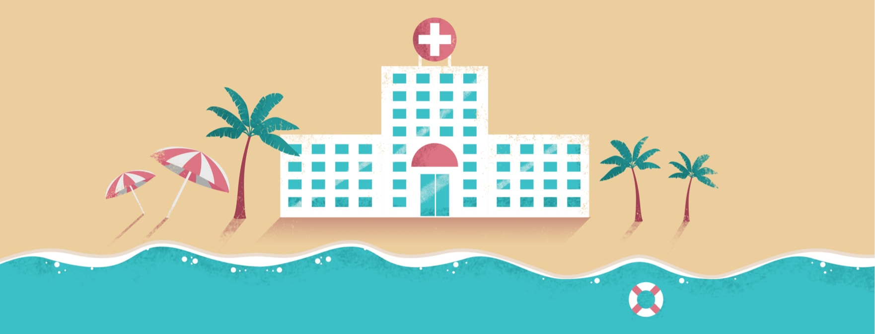hospital on the beach