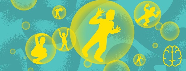 men trapped in bubbles can't talk to each other or their wives