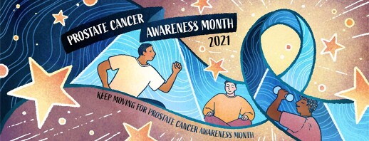 Keep Moving for Prostate Cancer Awareness Month 2021 image